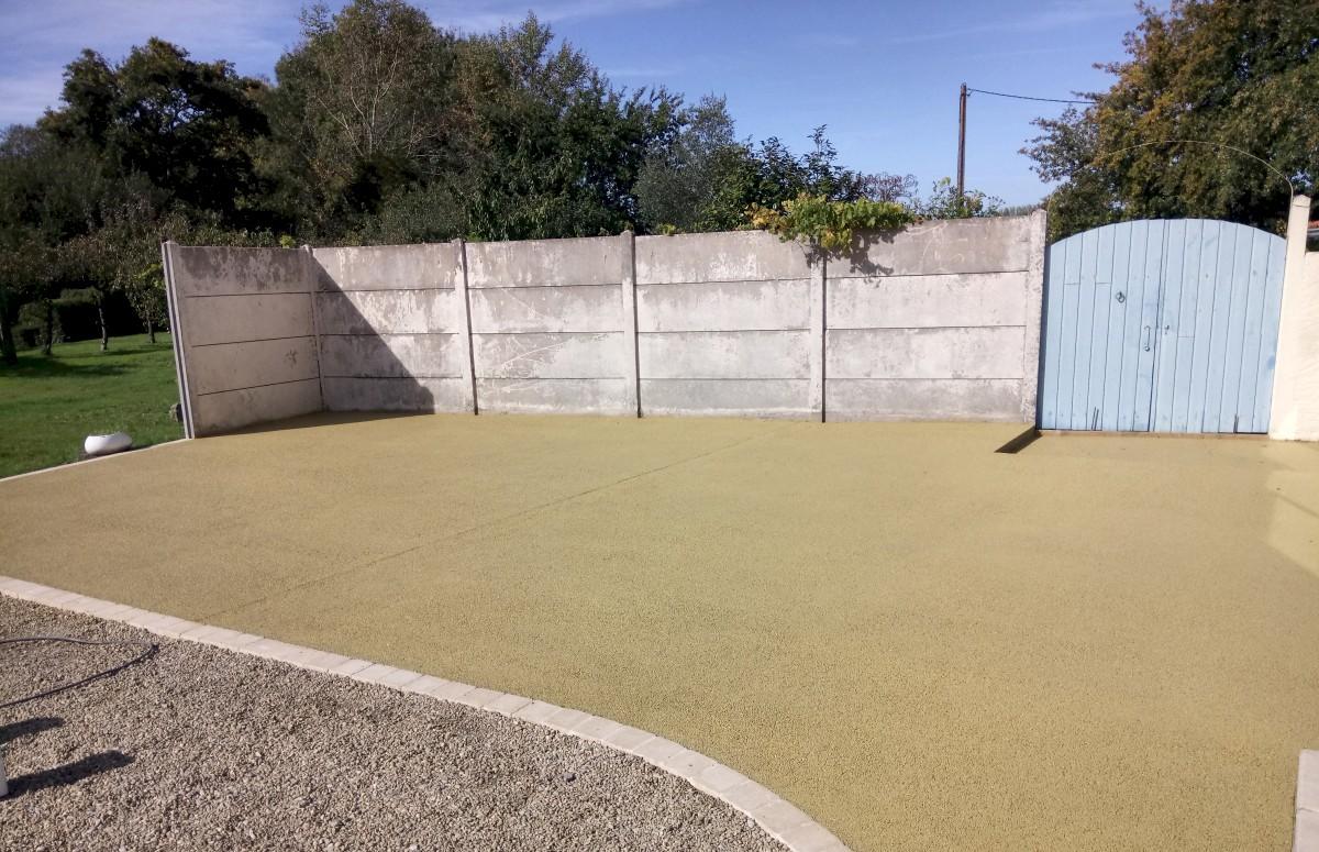 Allee En Beton Drainant masson/guilbaud - béton drainant/poreux/désactivé
